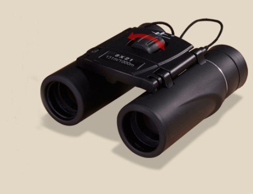 8x21 small and portable binoculars  low light level night vision high-power high-definition