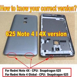 Image 4 - MTK Helio X20 / Snapdragon 625 Global 32GB/64GB pantalla LCD MONTAJE DE digitalizador con pantalla táctil + marco para Xiaomi Redmi Note 4 4X
