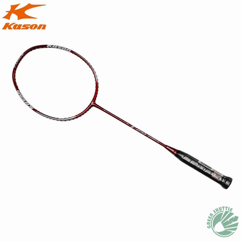 2019 New Arrival Kason Carbon Eastic & Durable 25-27 Lbs Amateur Intermediate & Senior T210 High Carbon Badminton Racket