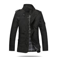 Fashion Thin Men Jacket Coat Hot Sell Casual Wear 5XL Korean Comfort Autumn Overcoat Necessary Spring Coat