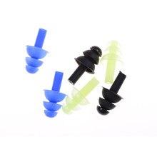 1 paar Weiche Ohr Stecker Umwelt Silikon Wasserdicht Staub-Proof Ohrstöpsel Tauchen Wasser Sport Schwimmen Zubehör