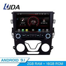 LJDA Android 9,1 dvd-плеер автомобиля для Ford Mondeo Fusion 2013 2014 gps навигации 1 Дин радио wi-fi-мультимедиа стерео, головное устройство