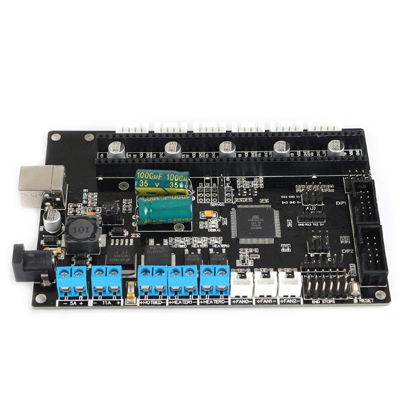Motherboard 3D Printer TriGorilla Integrate Mainboard Compatible Mega2560 & RAMPS1.4 4 Layers PCB Controller BoardMotherboard 3D Printer TriGorilla Integrate Mainboard Compatible Mega2560 & RAMPS1.4 4 Layers PCB Controller Board