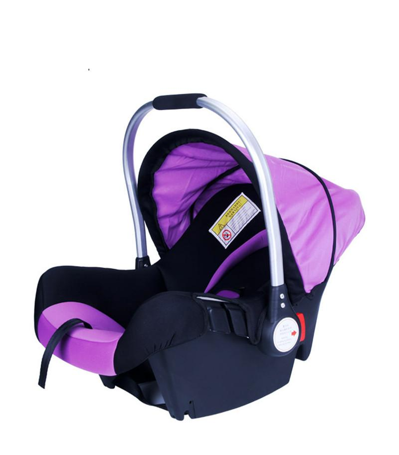 Four Colors Infant Basket-Style Safety Car Seat Baby Car Seat Portable Child Automotive Safety Seats Kids Outdoor Handle Cradle baby car seat isofix infant safety toddler portable baby car seats booster child safety car seat baby seggiolini per auto