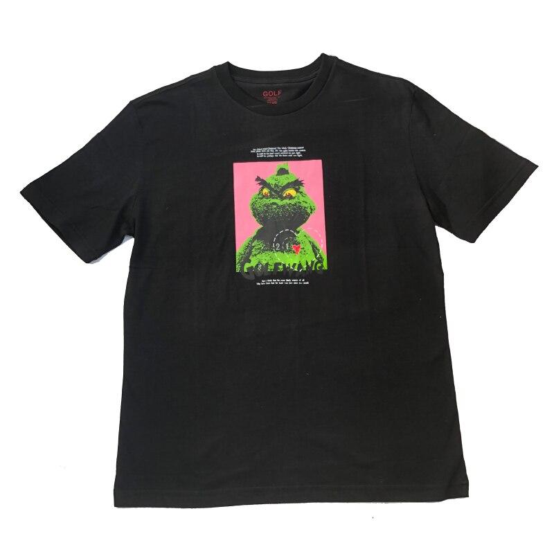 Luxe nouveau 2019 golf wang Le Fleur Tyler Le créateur T-Shirts T-Shirt Hip Hop Skateboard rue coton T-Shirts T-Shirt Top # A1