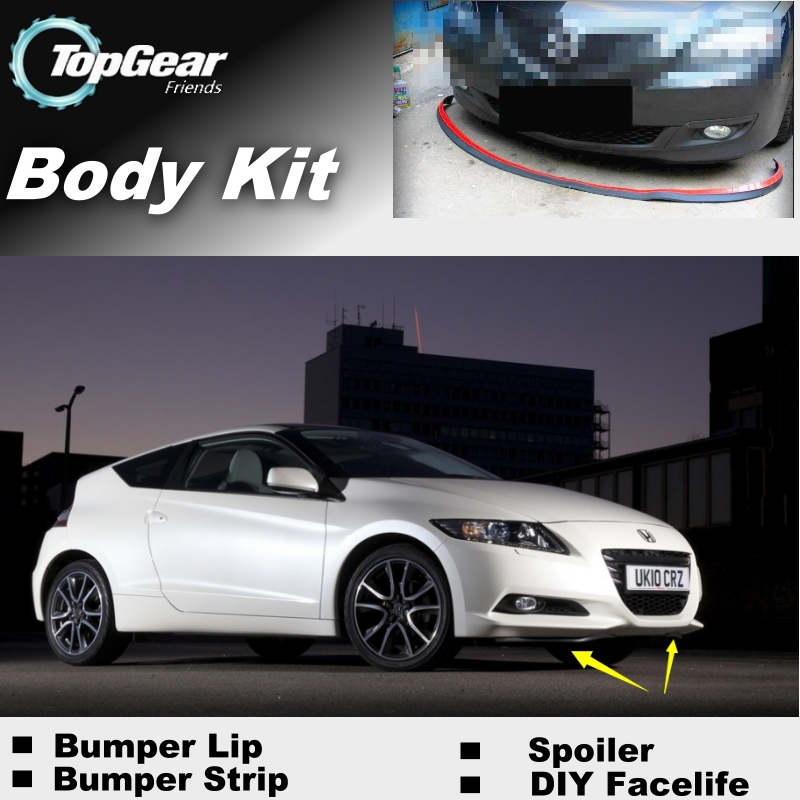 Detail Feedback Questions About For Honda Crz Cr Z 2010 2017 Per Lip Lips Top Gear Front Spoiler Car Tuning Topgear Body Kit Strip Skirt