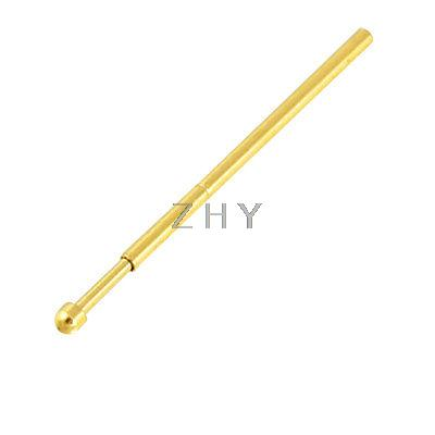 100 Pcs 0.8mm Dia Spherical Tip Spring Loaded Test Probe Pin 100 x p111 v 1 3mm dia 4 point crown tip spring test probe