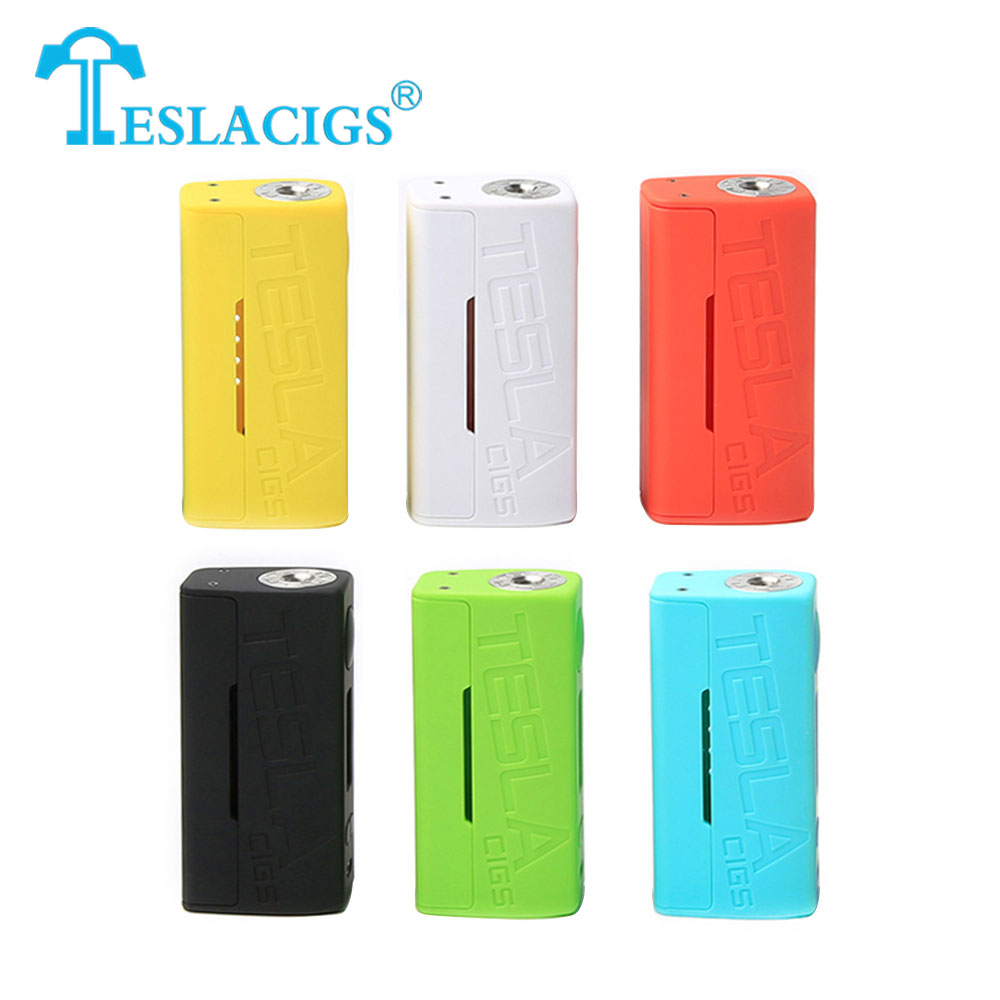 Original Tesla WYE 85W TC Box MOD with Max 85W Output Power & LED Indicator No 18650 Battery for H8 Mini Tank Ecigarette box mod