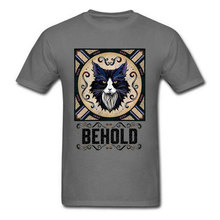 Behold Men T-shirts Faddish Wolf T Shirt Autumn Short Sleeve O-Neck Tops Shirts Cotton Fabric Mens Classic Clothes Free Shipping