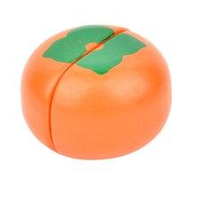 Деревянная режущая еда ненастоящая игрушка для детей, обучающая игрушка помидор