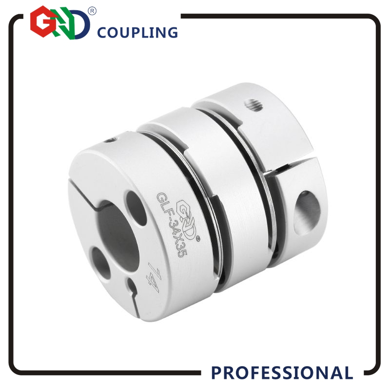 Flexible couplings GND High sensitivity shaft 5mm 14mm double diaphragm 28x32.2 coupling flexible coupling elastic torsionally 2pcs diametre 30mm shaft diameter5 14 dual diaphragm couplings ball screw cnc coupling shaft connector servo motor coupling page 5
