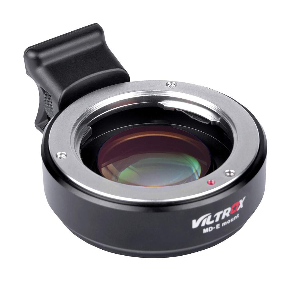 Viltrox MD-E Focal Reducer Speed Booster Lens Adapter for Minolta MD mount Lens to E NEX A7 A7RII A7SII A6300 A6500 NEX-7/5