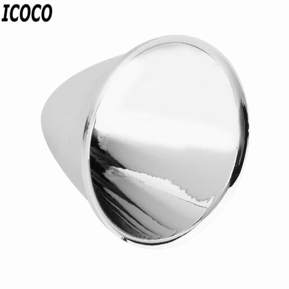 ICOCO 1pcs Replacement Aluminum Reflector Cup for C8 XM-L Flashlight DIY Light Weight Easy To Install No Tools Needed