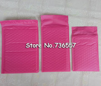 Pink 3 9X5inch 100X127MM Usable Space Poly Bubble Mailer Envelopes Padded Mailing Bag Self Sealing 100pcs