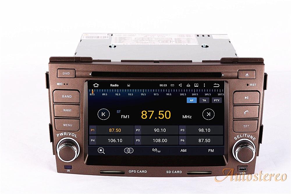 Android 8 Voiture GPS Navigation AutoStereo Voiture CD Lecteur DVD pour HYUNDAI SONATA NF 2008-2010 Multi-médias système 2din radio enregistreur