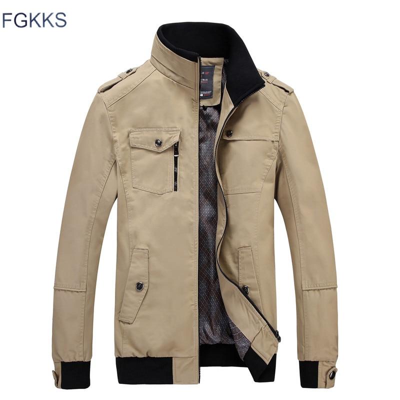 FGKKS marque veste décontractée homme mode
