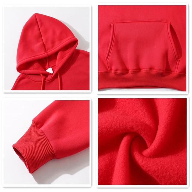 Funny Cat Wave Printed Fleece Hoodies Winter Japan Style Hip Hop Casual Sweatshirts KODAK Street wear 5