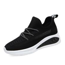 Hot Sale Shoes Woman 2019 Canvas Breathable Sneakers Women Wedges Platform Ladies Casual B0008