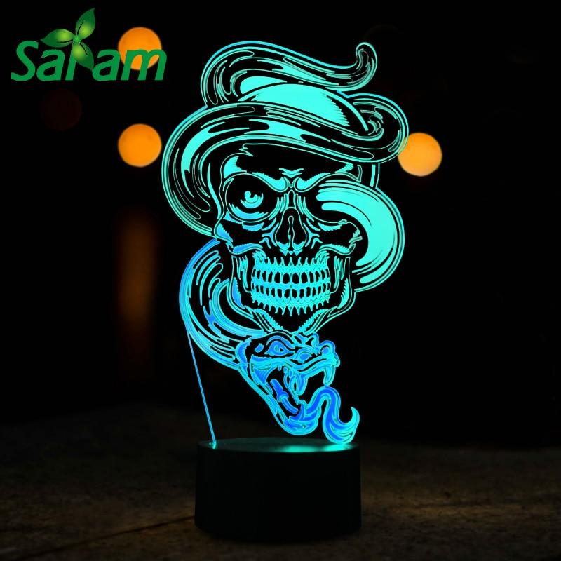 Liebeszeichen 3D LED Nachtlicht Bunte Touch Lampe Schreibtischlampe Tischlampe