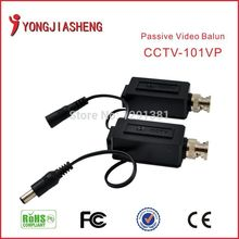 Twisted Video Balun Passive Transceivers CCTV DVR camera BNC Security Video Balun up to 600m