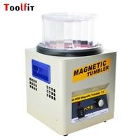 Variable Speed Polishing Machine Magnetic Tumbler 2000RPM Capacity 600g Jewelry Watch Polishing Grinding Power Tool