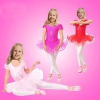 Flower Girls Ballet Dress For Children Girl Dance Clothing Kids Ballet Costumes For Girls Dance Leotard