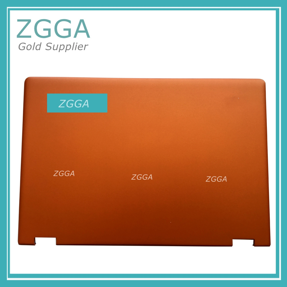 New Original R Lenovo Ideapad Yoga 3 14 Lcd Rear Lid Back Cover Screen Top Lid Ap0yc000130 Orange Laptop Accessories