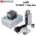 Tc ismoka eleaf istick 200 w caixa mod vape cigarro eletrônico vaporizador e hookah com inde tc200w firmware atualizável duo tanque
