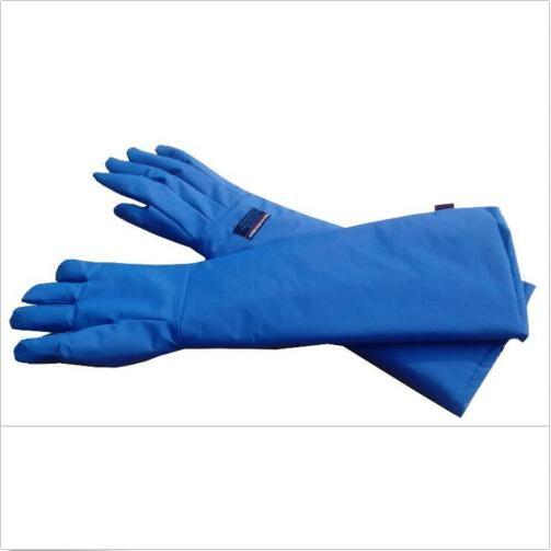 Anti low temperature Liquid Nitrogen Protective Gloves LNG Gloves 68CM