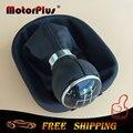 5 engrenagem speed shift knob engrenagem vara bota substituição acessórios para volkswagen vw caddy ii 2 mk2 2004-2009 touran 2003-2010