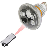 BC 683 Bulb DVR Camera 3rd IR LED Array With Remote Control Motion Dection Loop Recording