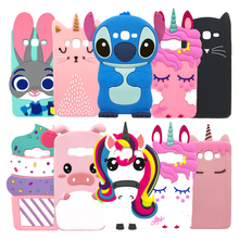 Soft Cover For Samsung Galaxy Grand Prime Plus G532 SM-G532F Case 3D Silicon Back Cover For Samsung J2 Prime J2Prime Phone Cases