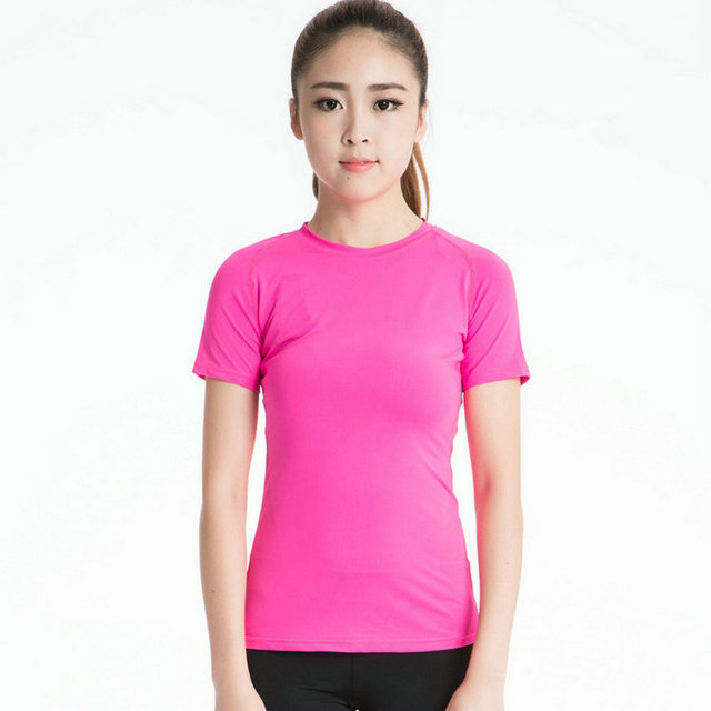 2017 Aipbunny Lulu deportes Tops Yoga Camiseta deportiva mujer blusa  Athletic Gym camisetas Dry Fit Fitness 47ca648f675f