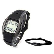 Импульсный Heart Rate Мониторы счетчик калорий Часы + груди полосы ремень Фитнес спортивные