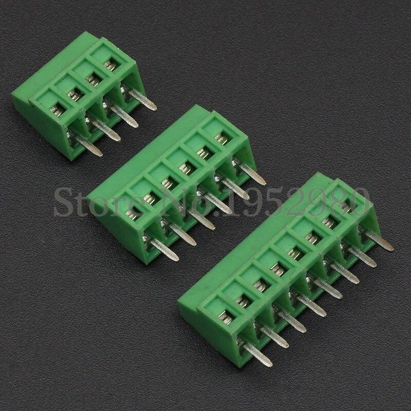 5 X 4-Way Plug-in de PCB vertical abierta termina el cabezal 5.08 mm Bloques terminales Equipamientos y maquinarias