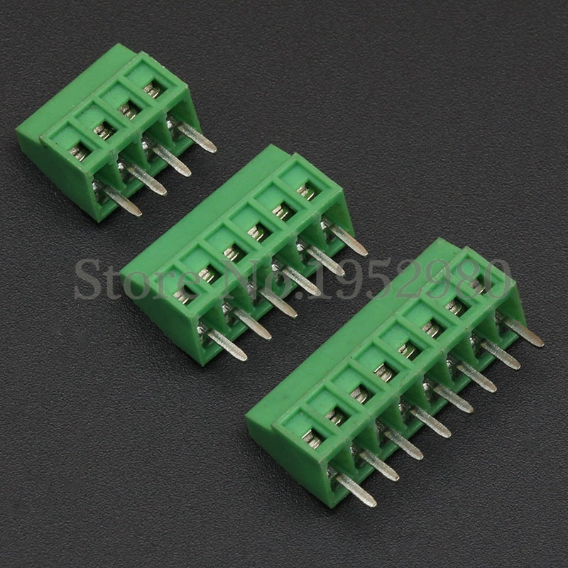 50PCS 2.54MM PCB Universal Screw Terminal Blocks Connector 2/3/4/5/6/7/8/9/10-12 Pin/Poles KF120 Straight Pin Copper RoHS crazyfit mesh hollow out sport tank top women 2018 shirt quick dry fitness yoga workout running gym yoga top clothing sportswear