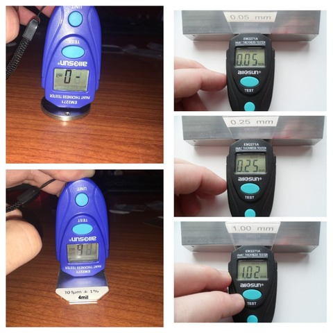 all sun all-sun EM2271 EM2271A Digital Mini Automobile Thickness Gauge Car Paint Tester Thickness Coating Meter Ship From Russia Multan