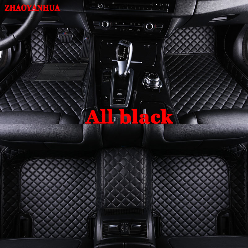 Custom fit car floor mats for all models Hyundai I30 IX30 IX35 Elantra Santa Fe Sonata Tucson Accent Coupe  Car StylingCustom fit car floor mats for all models Hyundai I30 IX30 IX35 Elantra Santa Fe Sonata Tucson Accent Coupe  Car Styling