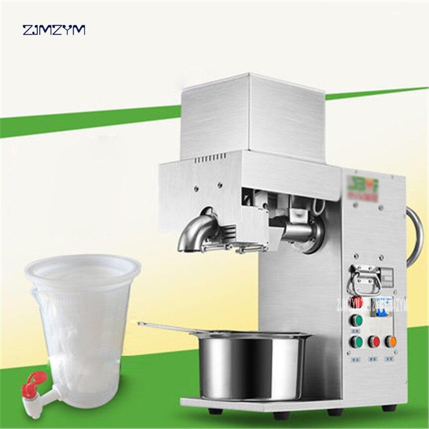 Oil press machine Stainless steel Oil presser for sesame/Melon seeds/Rapeseed/flax/walnut Peanut oil presser FL-S2017 Commercial