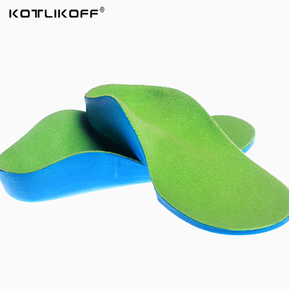 Orthotic Insoles For Children Flat Foot Arch Support Orthotic Pads Correction Health Feet Care Insole O/X Type Leg Insoles soumit gel unisex o x leg valgus varus corrector orthotic insoles foot pads heel correction pads flatfoot support insert insoles