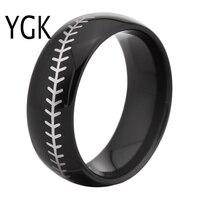 Free Shipping USA UK Canada Russia Brazil Hot Sales 8MM Black Dome Baseball Stitch Comfort Men