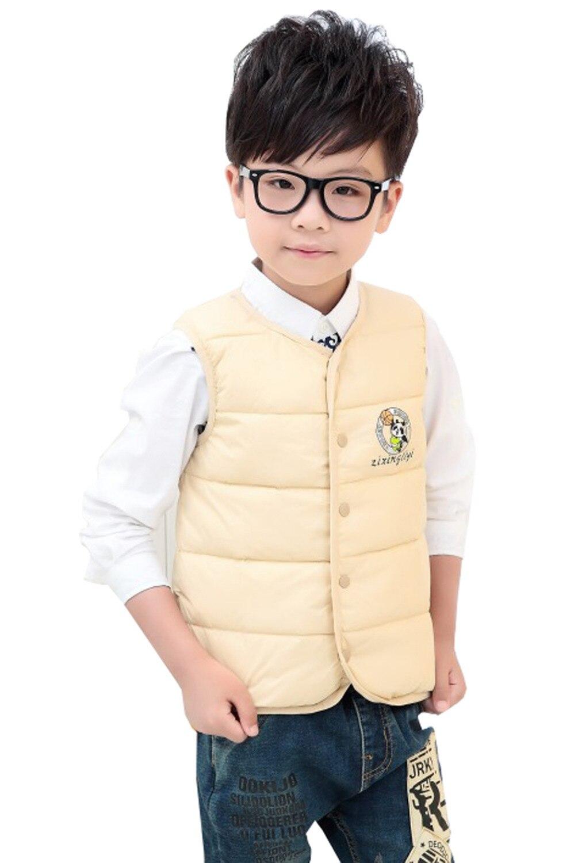 Fashion Korean Children Kids Boys Girls Winter Coat Cotton Cartoon Warm Vest Down Padded Jacket Waistcoats 2 7 Years In Vests From Mother