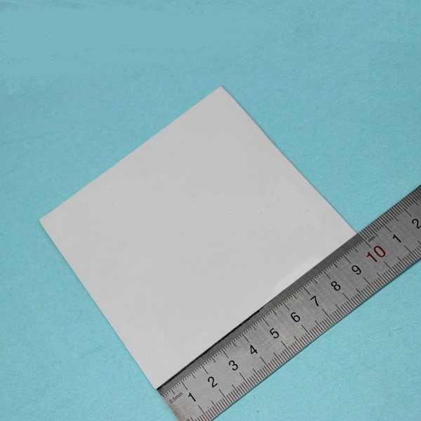 10 шт. синий 100 мм * 100 мм * 1 мм силиконовая термопрокладка 1,0 мм теплоотвод охлаждающий проводящий GPU cpu IC чип тепла СПИД 100 мм x 1 мм