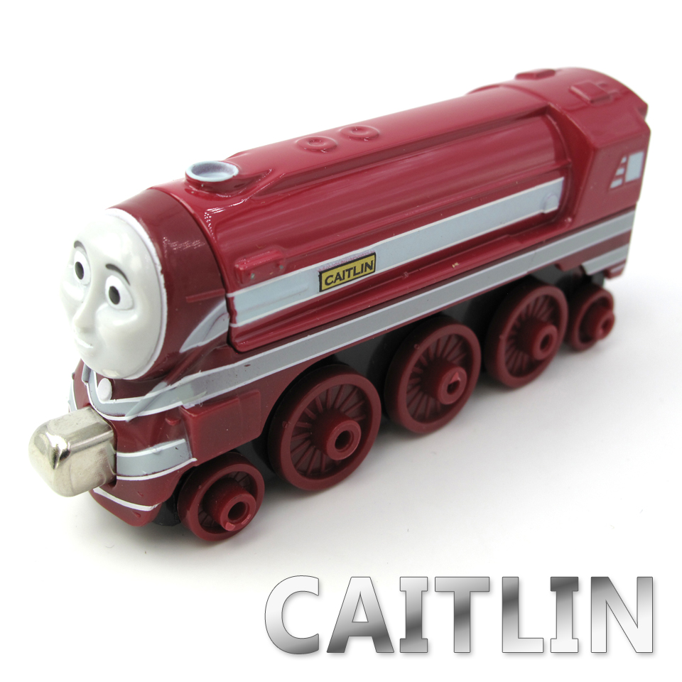 Diecasts Vehicles Thomas T022D CAITLIN Thomas And Friends Magnetic Tomas Truck Car Locomotive Engine Railway Train Toys for Boys