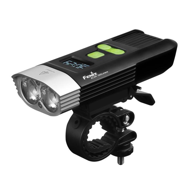 2017 NOUVEAU Fenix BC30R Cree XM L2 U2 LED haute intensité vélo lumière USB chargeur construire dans la batterie au lithium écran OLED livraison gratuite