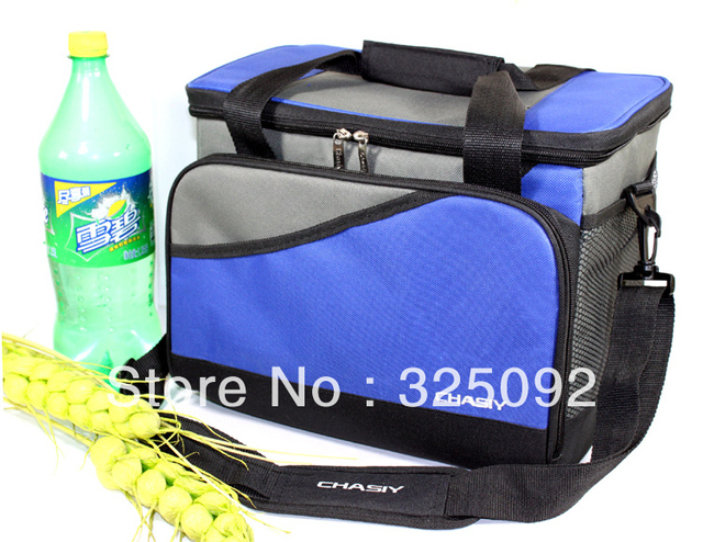 Large hard thermal cooler bag w/ plate for food stable take-away thickening lunch bag ice bag