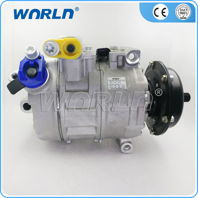 car air conditioning compressor. car air conditioner compressor for volkswagen transporter t5 2.5tdi touareg 5.0tdi 7h0820805e conditioning
