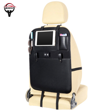 free shipping USB car seat storage bag back organizer Car cover Interior Accessories