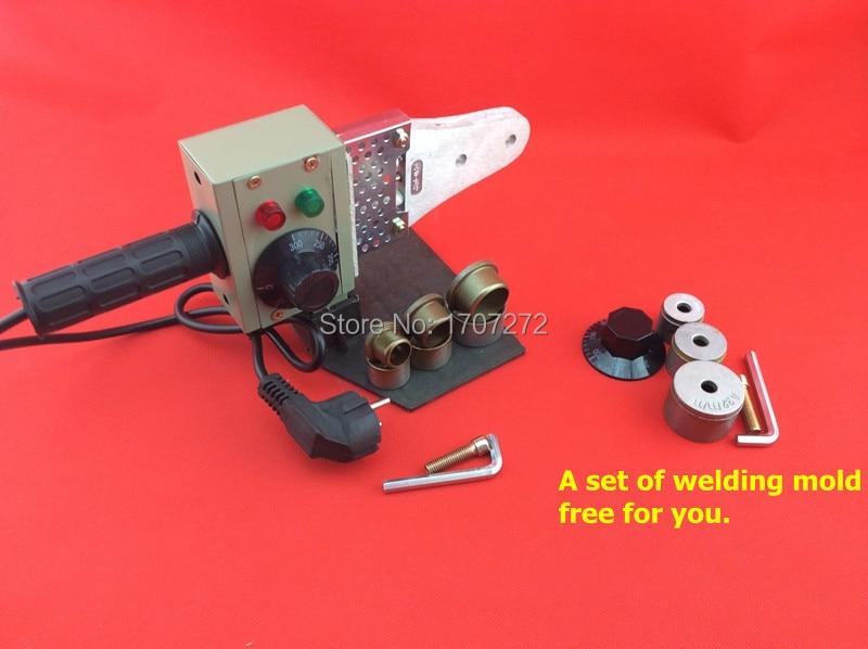 A fokozatú PPR hegesztőgép, pvc hegesztőgép, műanyag hegesztő - Hegesztő felszerelések - Fénykép 2