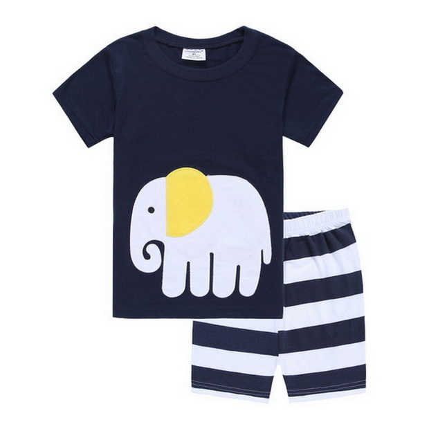 f8632cb3dd A%A-558 Fashion Baby Boy Pajamas Clothes Sets Cotton Cartoon Kids Home Wear